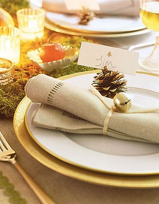 White gold thanksgiving table ideas allure party Christmas place setting ideas